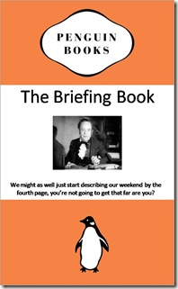 briefing book